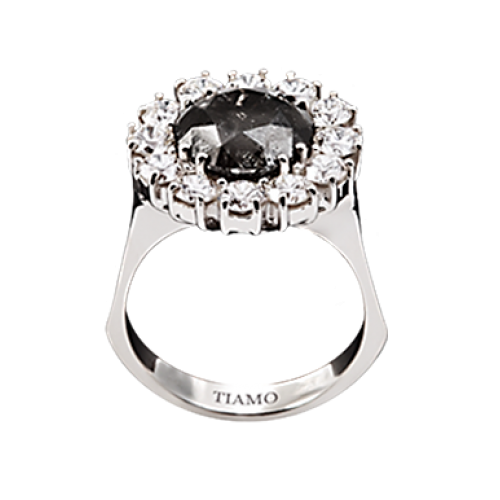 каталог эксклюзивных колец TIAMO, галерея эксклюзивных колец, эксклюзивные кольца из золота и платины с бриллиантами